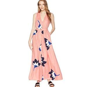 Roxy - Peach Floral Maxi Dress